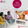 LG Mosquito Away TV with the Bambanis