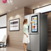 Knock Knock! It's LG InstaView