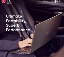 Enjoy extreme versatility and mobility with the LG Gram laptop