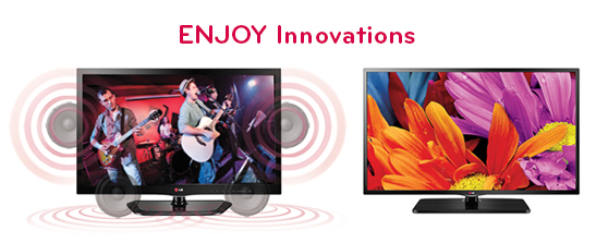 LG Jazz TV and Transform TV