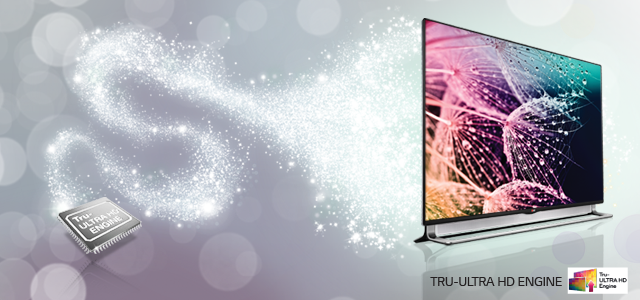 LG 4K ULTRA HD TV Tru ULTRA HD ENGINE