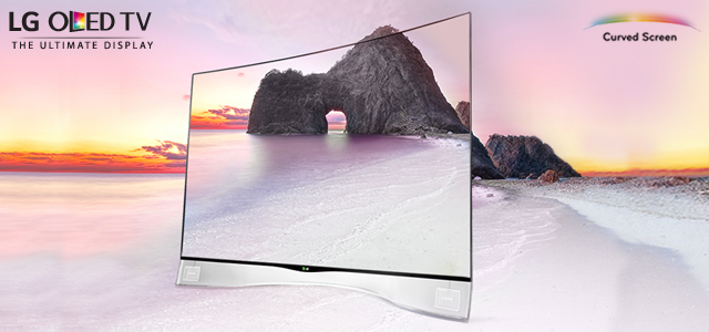 LG Curved OLED TV Curved Screen