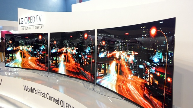 LG 77 Ultra HD Curved OLED TV