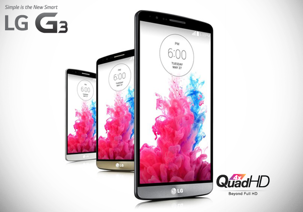 LG G3 Quad HD Display