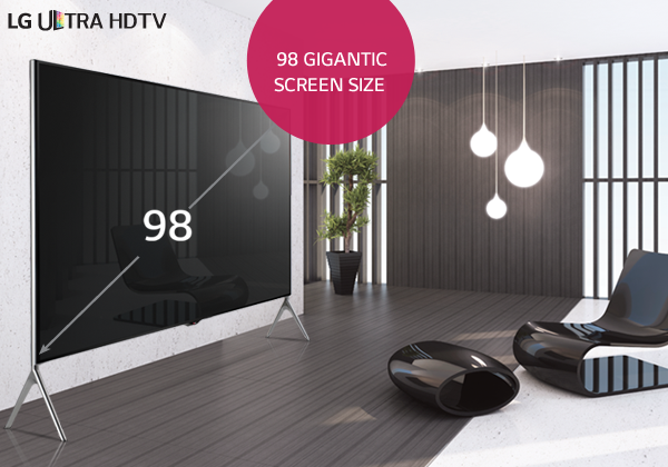 98 Ultra HD TV