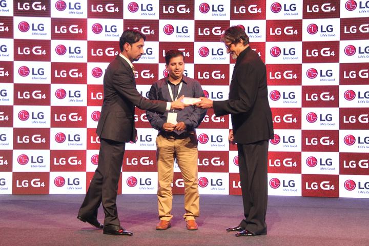 LG G4, Amitabh Bachchan