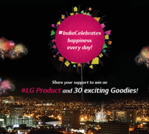India Celebrates Happiness with LG