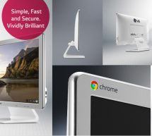 Faster, Simpler, Safer- The LG Chromebase