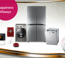 Happiness Always, with LG Home Appliances!