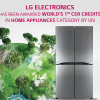 LG has been certified by UN for Energy Efficient Refrigerators.