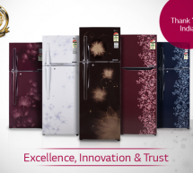 Thank You India for your Trust on LG Refrigerators!