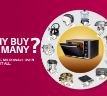 Why Buy Many? When One Microwave Does it All