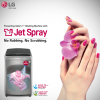 Save Everyday with Jet Spray Technology