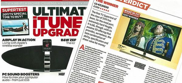 LG CINEMA 3D, Unsurpassed Champion of Marketplace