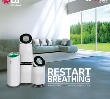 Breathe Pure with LG Air Purifier