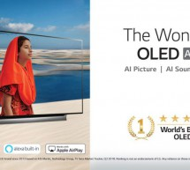 Step into the world of wonders with LG OLED TV