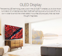 OLED Self-lighting Pixel for the Perfect Color Picture
