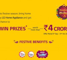 This Festive season Enjoy Great Offers with LG Home Appliances