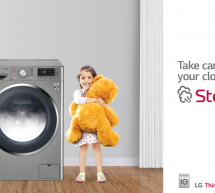 Give your clothes germ-free wash with LG Steam Technology