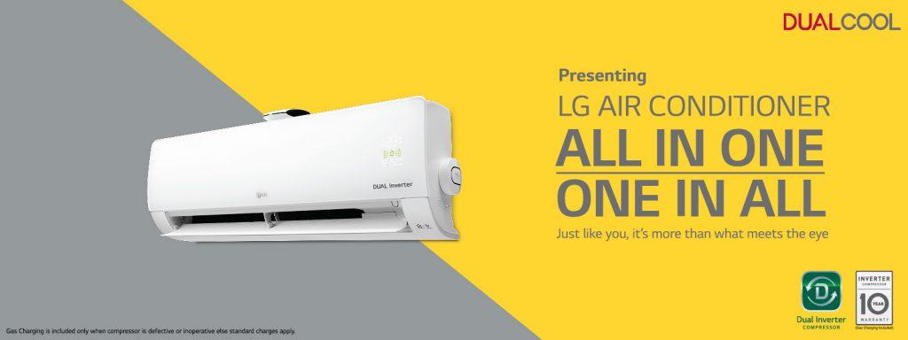 LG Air conditioner inverter 5 star