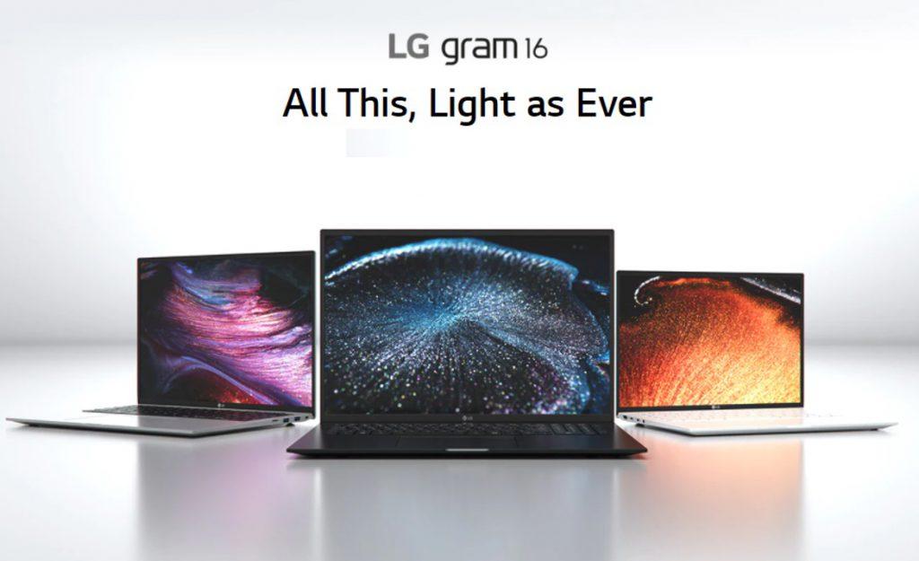 LG Gram 16 Lightweight Laptop