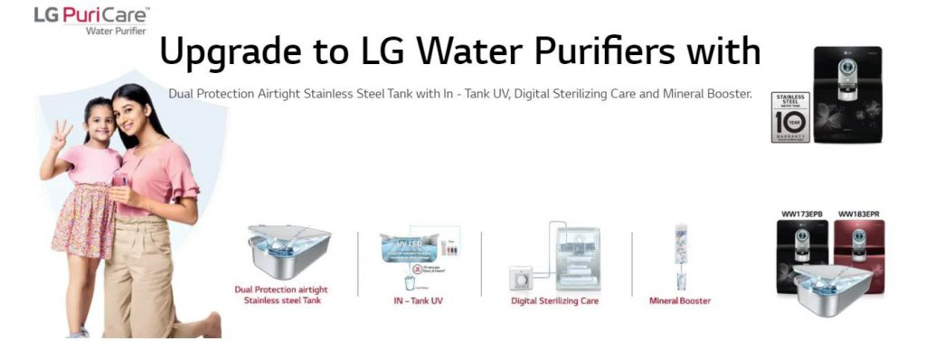Reasons to Upgrade to LG Water Purifiers